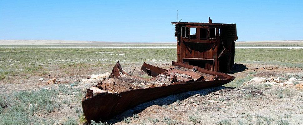 Aavikkolaiva, Aral (Jussi Salmela)