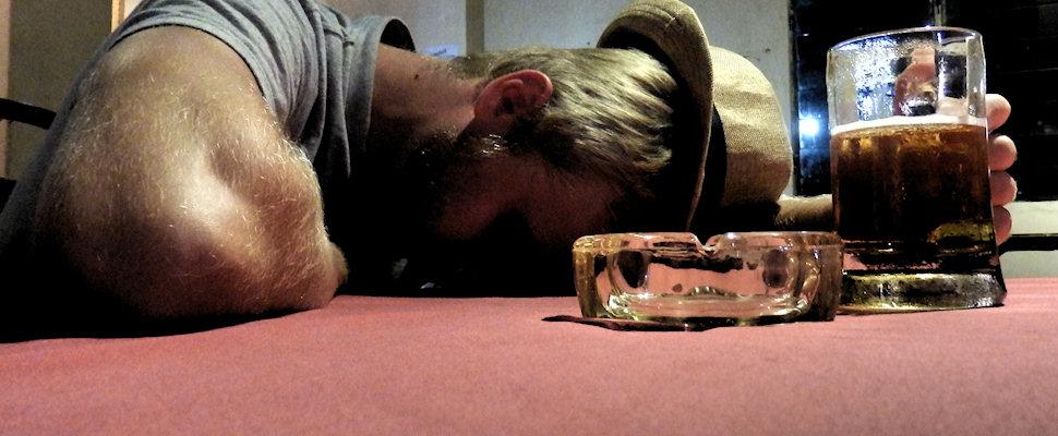 Alkoholismi, kulkurin ammattitauti