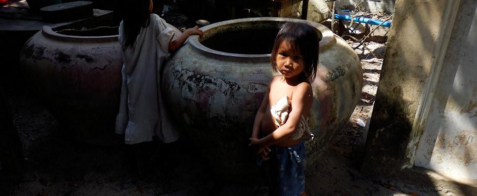 Kambodzalainen lapsi