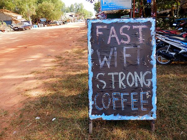 Fast Wifi Strong Coffee | Maija Kauhanen | kulkuri.org