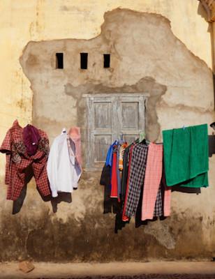 Viikon kuva: Pyykkinaru, Kampot, Kambodža