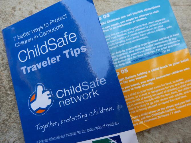 Infoesite Kambodzan lasten turvallisuuden takaamiseksi | Maija Kauhanen | kulkuri.org