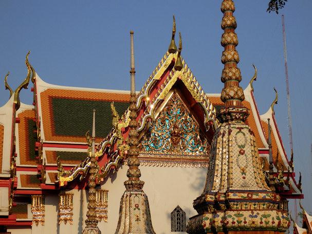 Bangkok, buddhalainen temppeli   Maija Kauhanen   kulkuri.org
