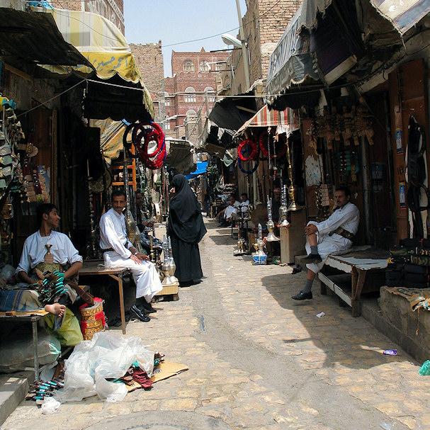 Sanaa, vanhan kaupungin kadut | Journey Jeff's Pix | Kulkuri.org