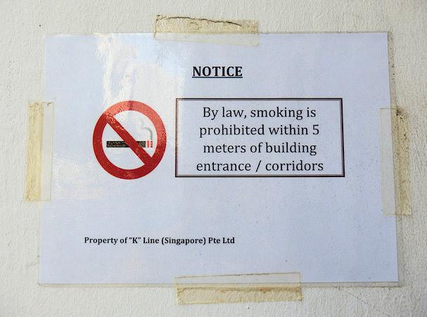 Tupakointi kielletty Kaakkois-Aasiassa | Maija Kauhanen | kulkuri.org