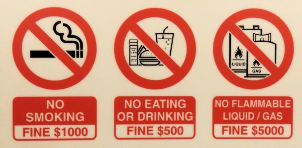 Tupakointi ja syöminen kielletty | Maija Kauhanen | kulkuri.org