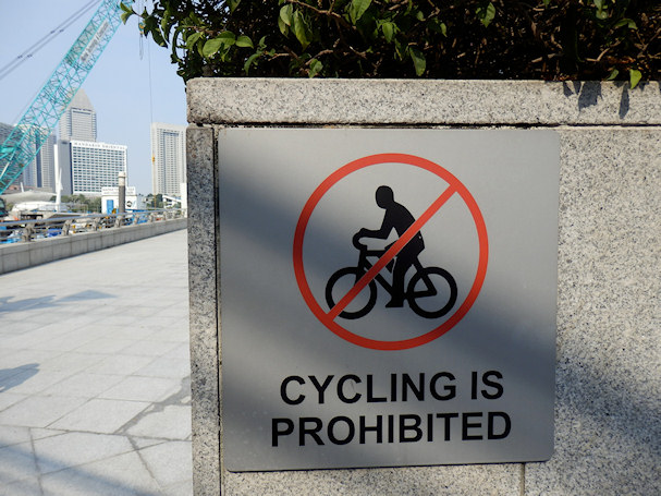 Pyöräily kielletty | Maija Kauhanen | kulkuri.org
