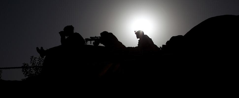 Amerikkalaisia sotilaita vartiossa | © Michael Yon | Kulkuri.org