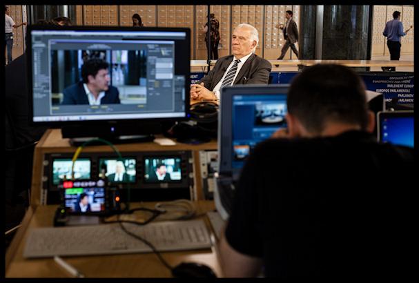 Media on Europarlamentissa läsnä kaikkialla   Kristof Vadino   Kulkuri.org