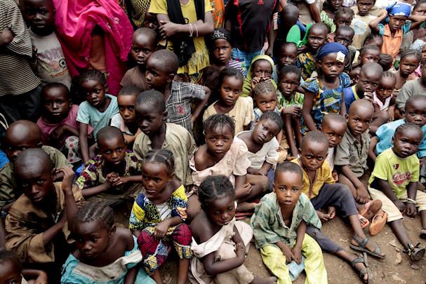 Keski-Afrikan Tasavalta, pakolaisia, lapsia | YK | kulkuri.org