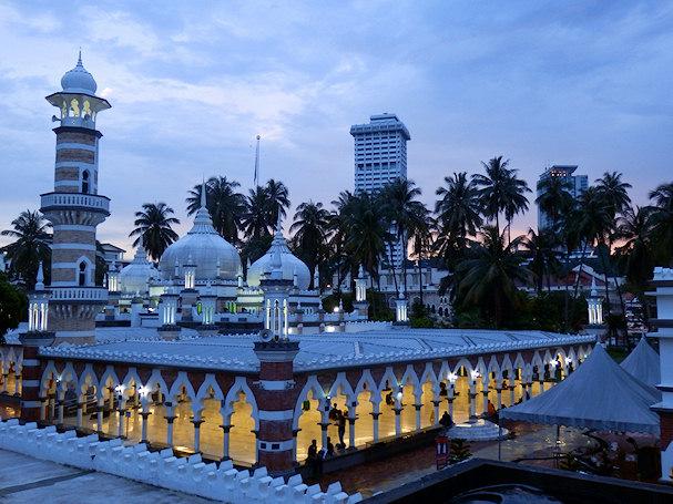 Moskeija, Kuala Lumpur, Malesia, Kaakkois-Aasia | Maija Kauhanen | kulkuri.org