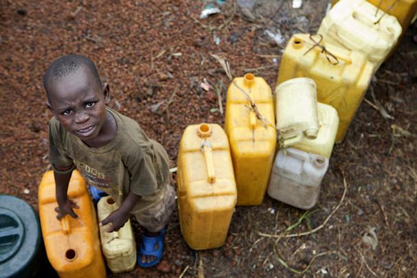 Kongolainen pakolaislapsi | YK | kulkuri.org