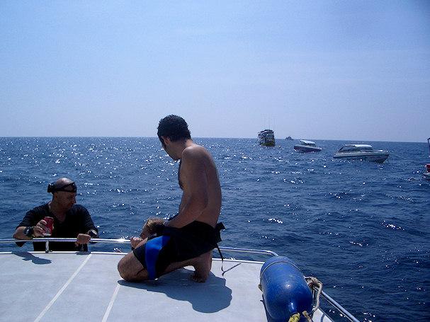 Sukellussafarilla sukeltaminen Thaimaassa maistuu | Ian Horner | kulkuri.org