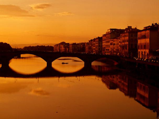 Silta Arno-joen yli Firenzessä | Sebastian Buchner | Kulkuri.org