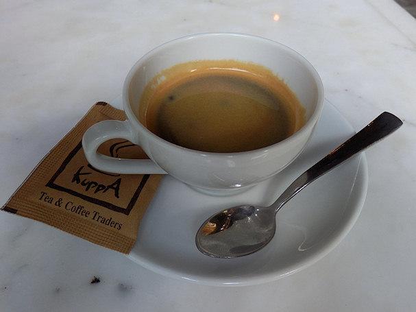 Kahvila Kuppa, Bangkok, kuppanen espresso | Kulkuri.org