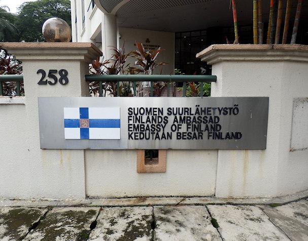 Suomen suurlähetystö, Kuala Lumpur, Malesia | Kulkuri.org