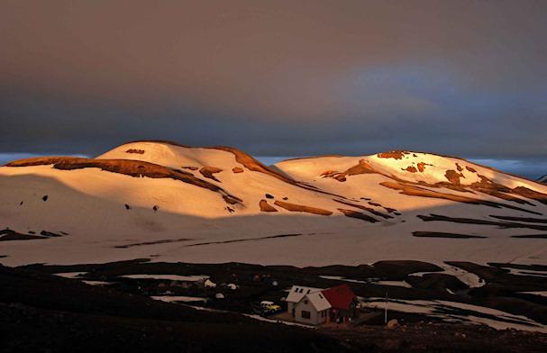 Islanti, vuoristo, näköala | Jussi Santala | Kulkuri.org