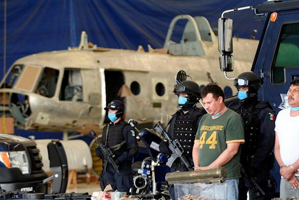 Meksikon poliisi on pidättänyt huumekartellin jäseniä | cc Jesuś Villaseca Perez | kulkuri.org