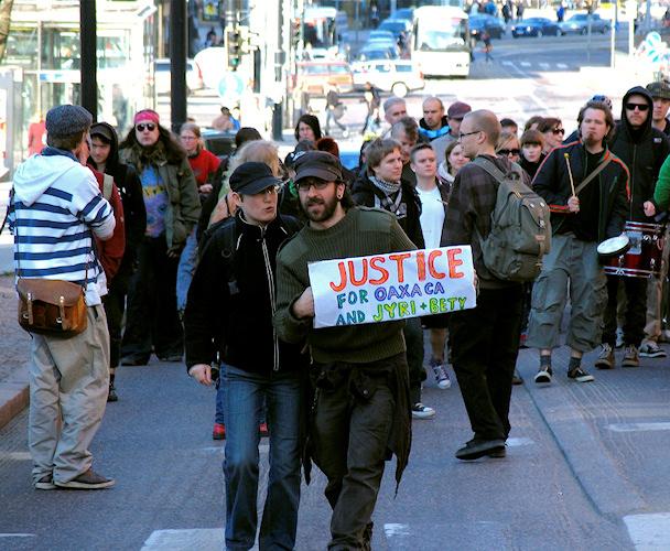 Oikeutta Jyrille ja Albertalle, Helsinki | cc Amnesty Finland | kulkuri.org