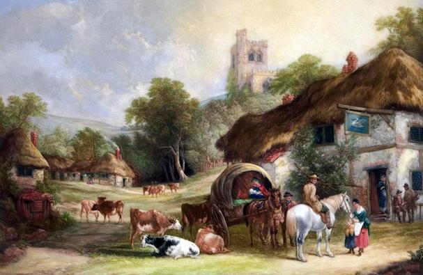 Maaseutu ja matkailu | public domain | kulkuri.org