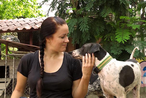 Kolmossivun kulkuri Jenni rapsuttaa thaimaalaista koiraa | Reissausta ja ruokaa | kulkuri.org