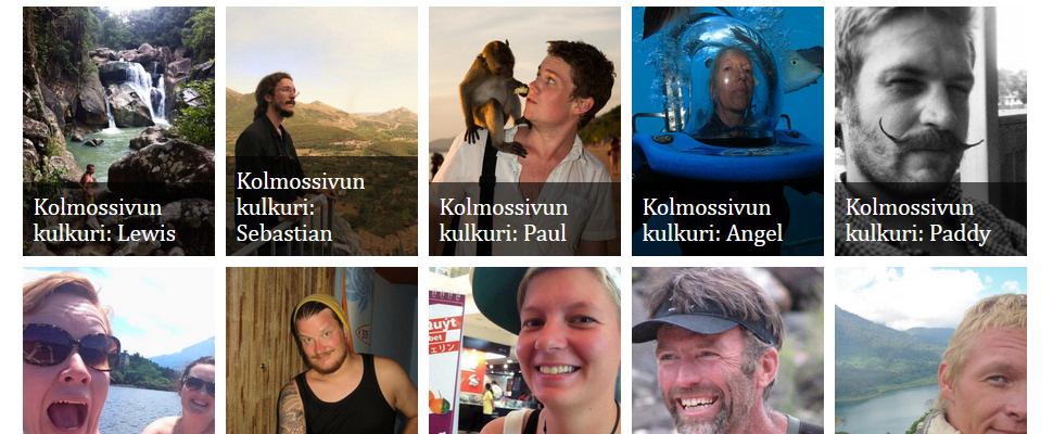 Kulkurigalleria, sarja reissaajien ja nomadien haastatteluita | kulkuri.org