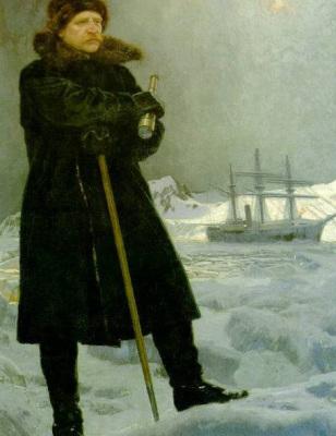 Adolf Erik Nordenskiöld, maalannut Georg von Rosen | public domain | kulkuri.org