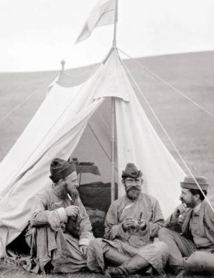 Suomalaisseurue Pohjois-Mongoliassa | public domain | kulkuri.org