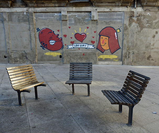 Mistä tunnet sä ystävän? / graffiti | Maija Kauhanen | kulkuri.org