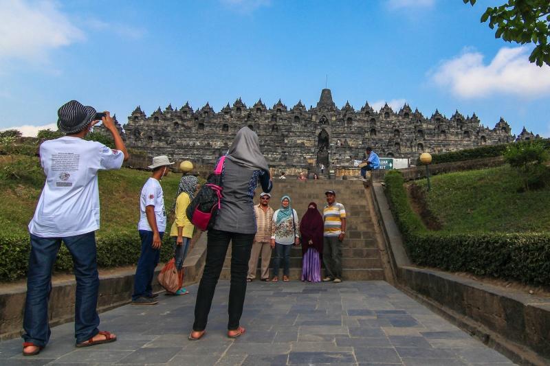 borobudurin temppeli indonesia - lee kasemets