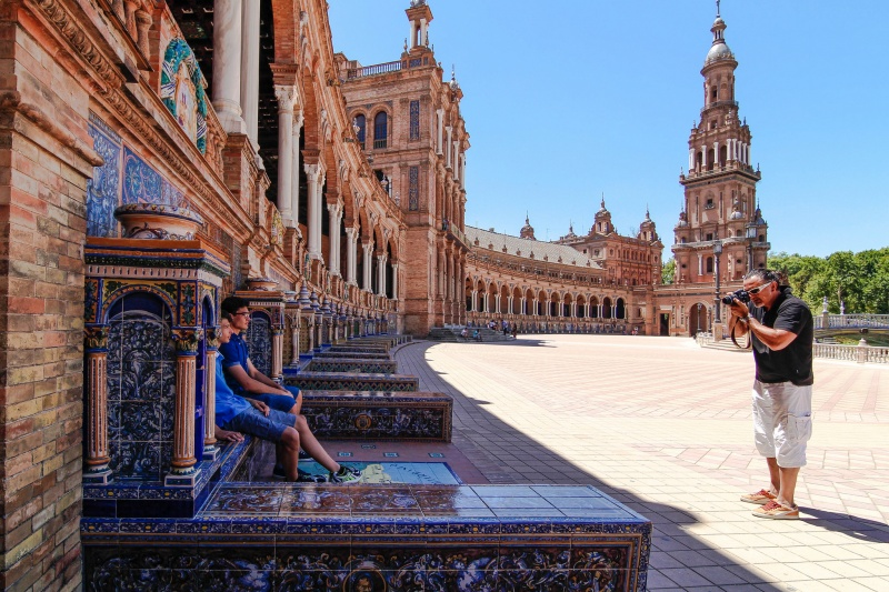 plaza de espanja sevilla - lee kasemets
