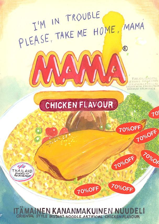 Mama Chicken Flavor - Riiko Sakkinen - Kulkuri.org