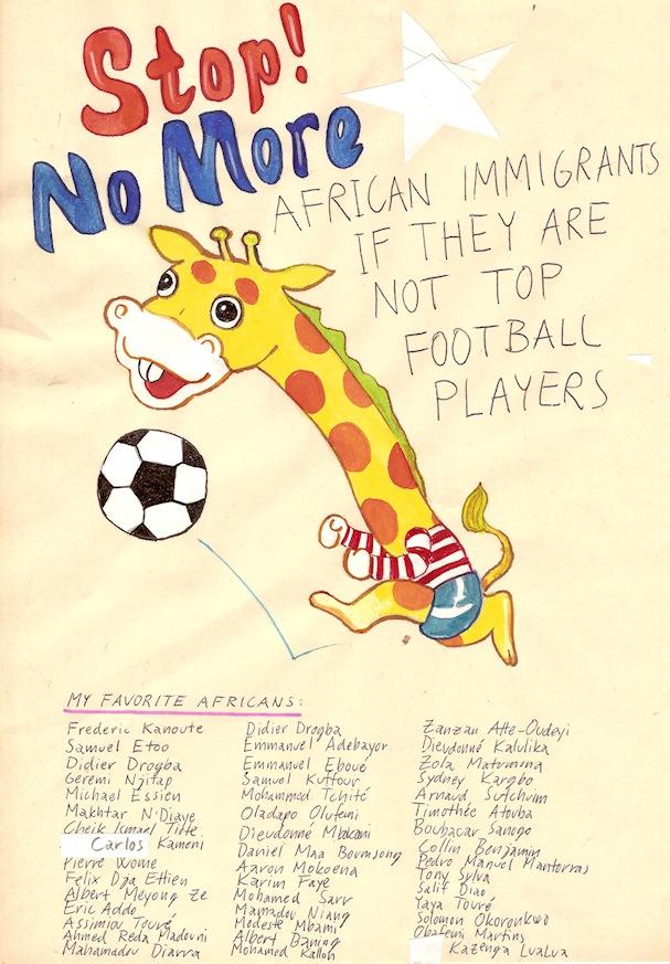 Stop No More African Immigrants - Riiko Sakkinen - Kulkuri.org