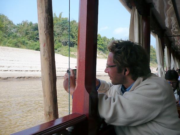 Mekongin jokilaivalla