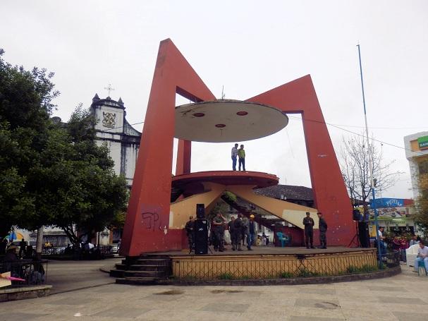 Cobán ei ole turistikohde vaan ihan tavallinen kaupunki