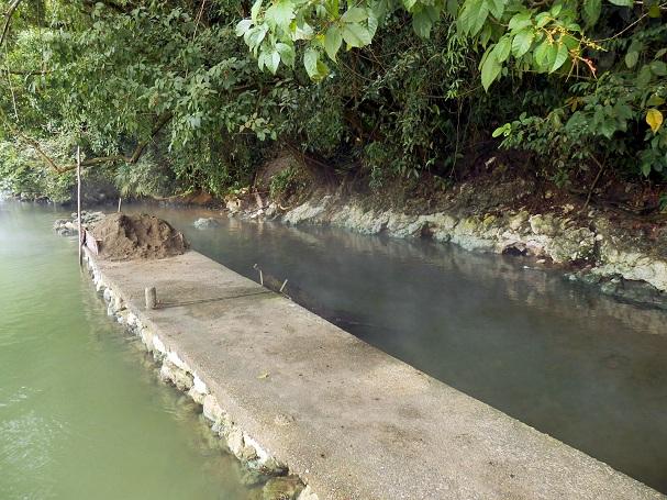 Río Dulcen kuumat lähteet, Aguas Calientes - Maija Kauhanen