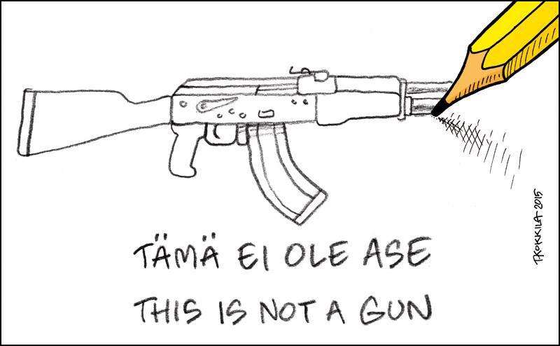 Tämä ei ole ase, this is not a gun - Timo Kokkila